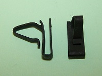 Door trim pad clip for .100