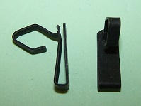 Door trim pad clip for .110