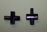 Moulding clip for 6.5mm moulding gap and 5.0mm panel hole.  Triumph Dolomite, Vauxhall Victor and general application.