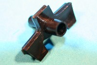 Moulding clip for 9.0mm moulding gap and 4.0mm panel hole. Ford Cortina, Capri, Escort and Granada