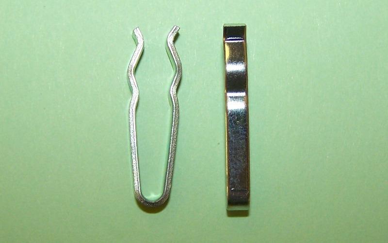 "3 16 Brake Line >> Bresco Vehicle Services Limited Brake Hardware- 3/16"" Brake line clip. Hole diameter 1/4 ..."