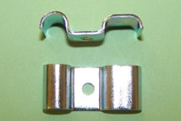 Brake Hardware- Twin Way Metal Brake Pipe clip. 2 x 3/16