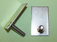 Moulding 'T' bolt with M6 x 25.0mm threaded stud. Ferrari Sill Moulding and general application.
