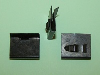Weatherstrip clip. Ford Cortina MK11, Granada MK1 and general application