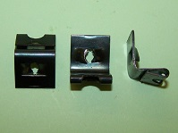 Right Angled Panel Clip for No.8 screw. General application.